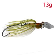 JonStar 13 กรัม/16 กรัม spinner เหยื่อตกปลาเหยื่อ Buzzbait chatter เหยื่อ wobbler isca ประดิษฐ์กระโปรงสำหรับเบส pike walleye(China)