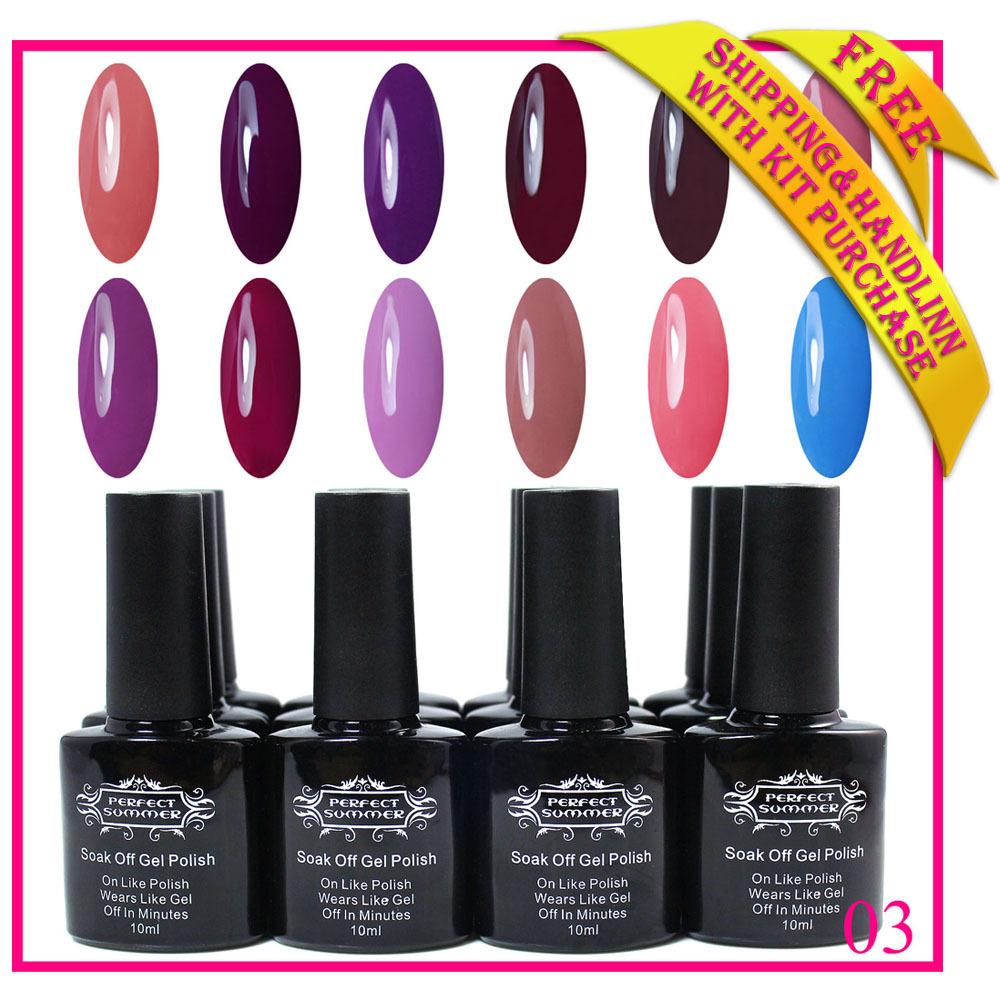 2015 new fashion nail gel uv 240 colors Free shipp...