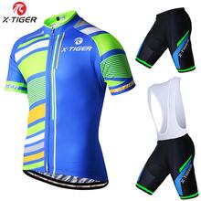 X-Tiger Ropa Ciclismo Cycling Clothing/MTB Bike Clothing/Rock Racing Bicycle Clothes/2016 cycling uniform Mans Cycling Jerseys(China (Mainland))
