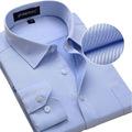 Plus Size 5XL 6XL 7XL 8XL New Design Men Cotton Twill Business Formal Dress Shirt Fashion