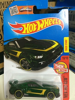 2016 new hot wheels Wind fire wheels small sports car frighteningly hot custom 15 ford mustang(China (Mainland))