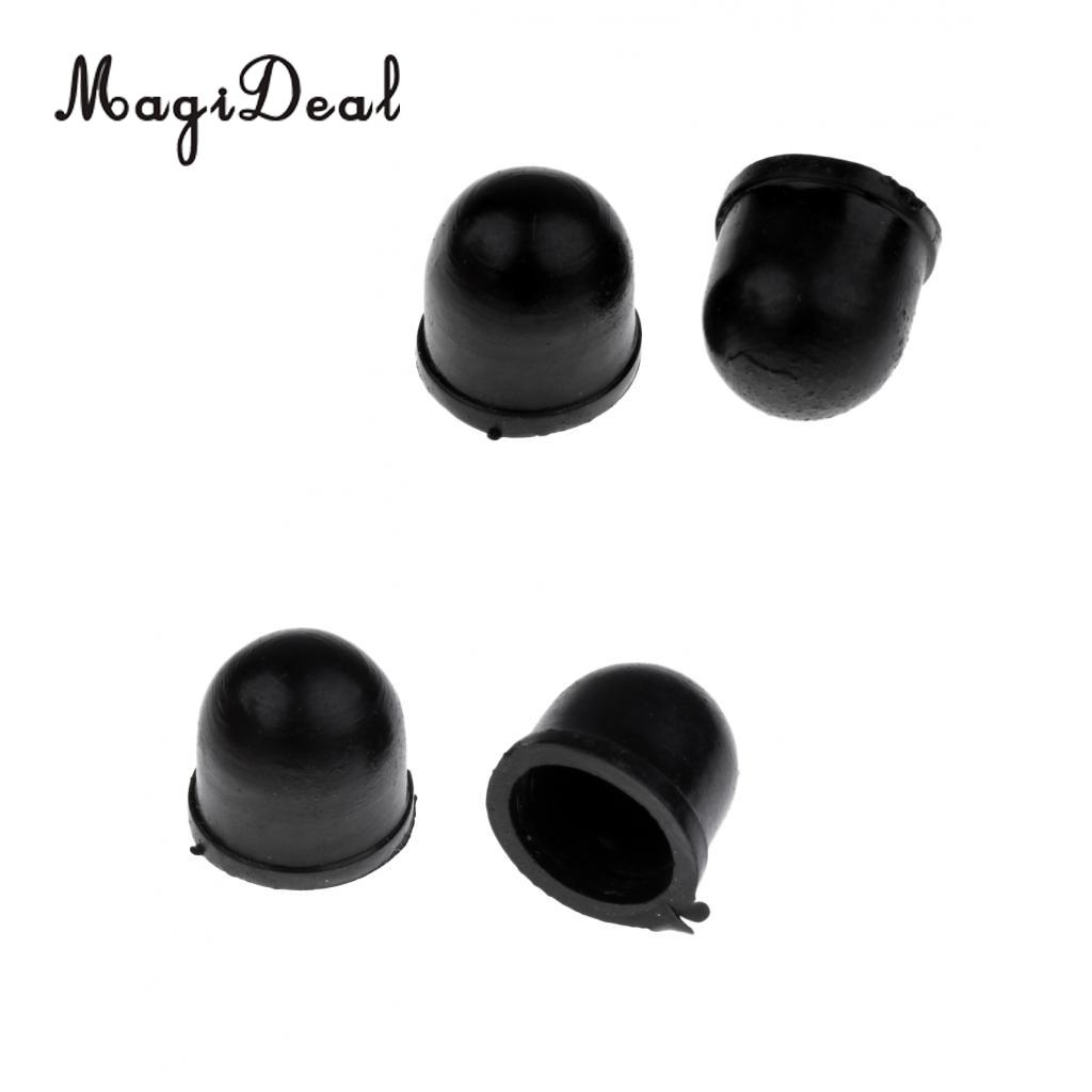 MagiDeal Durable Rubber Skateboard Longboard Truck Replacement Pivot Cups 2-Pack 3 Size for Bodyboard City Street Skating Acce