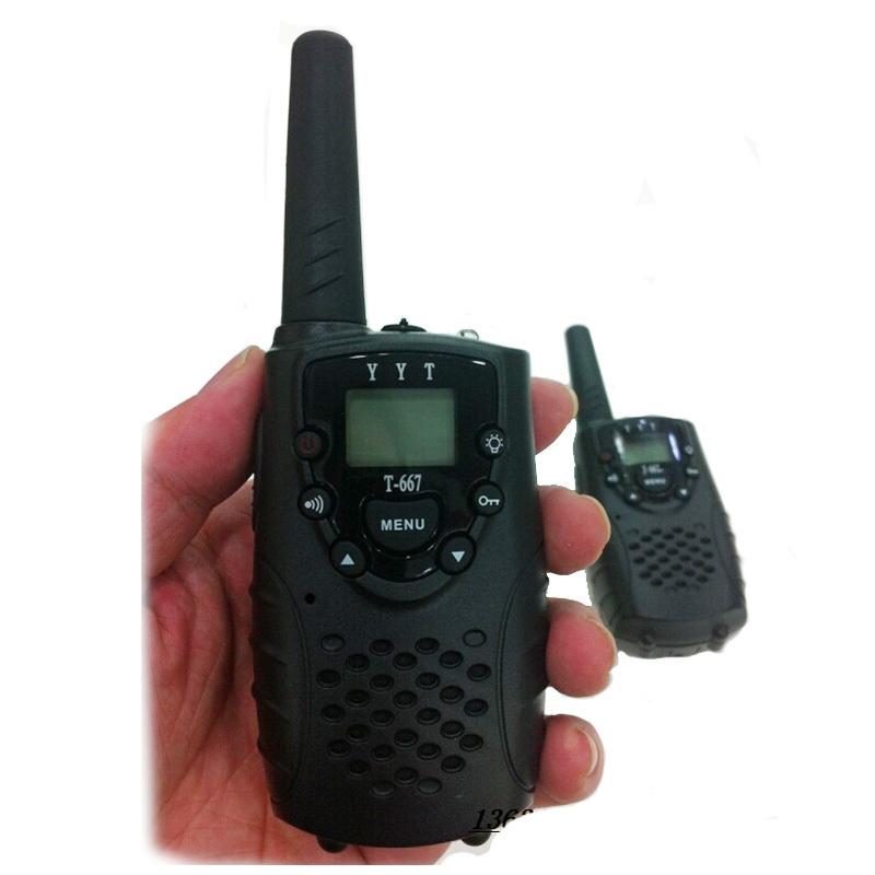 Wireless Mini Walkie Talkie T-667 GMRS/FRS 5KM Two Way Radios 22 Channel - Shenzhen Weisheng Agel Ecommerce Ltd store