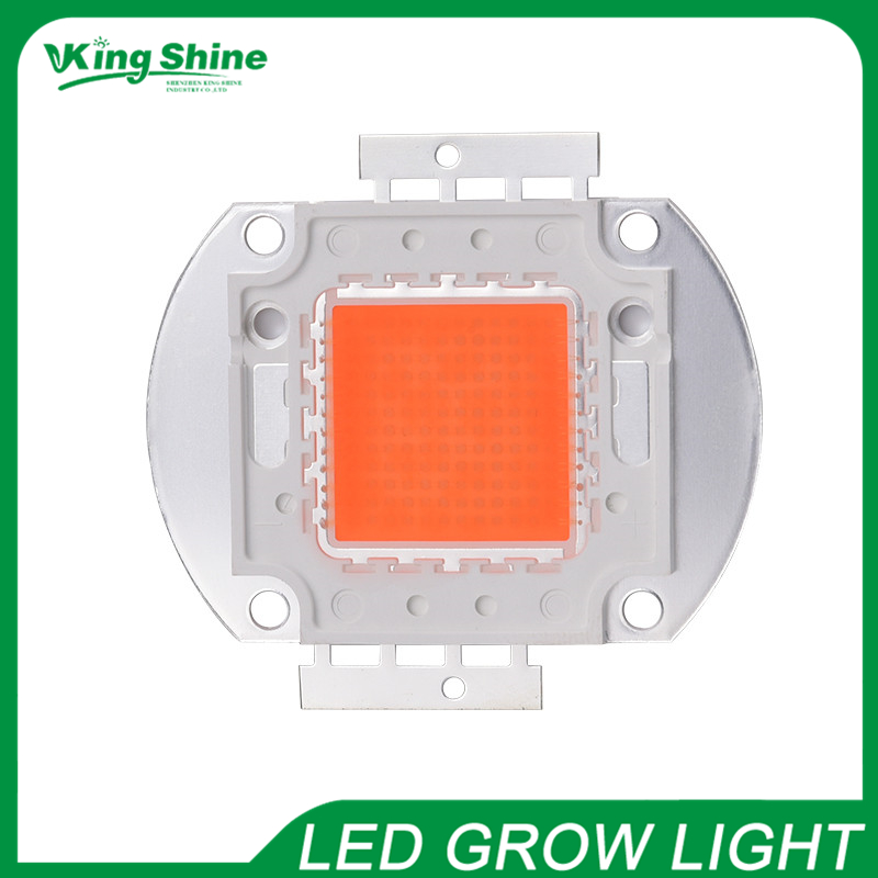 2015 full spectrum led grow light chip actual Power 30W range 380-840nm New COB tech for indoor plants growing and flowering(China (Mainland))