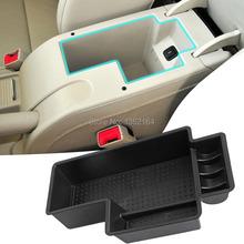 Auto glove box armrest storage box for Skoda superb 2009-2014 2015,Free shipping