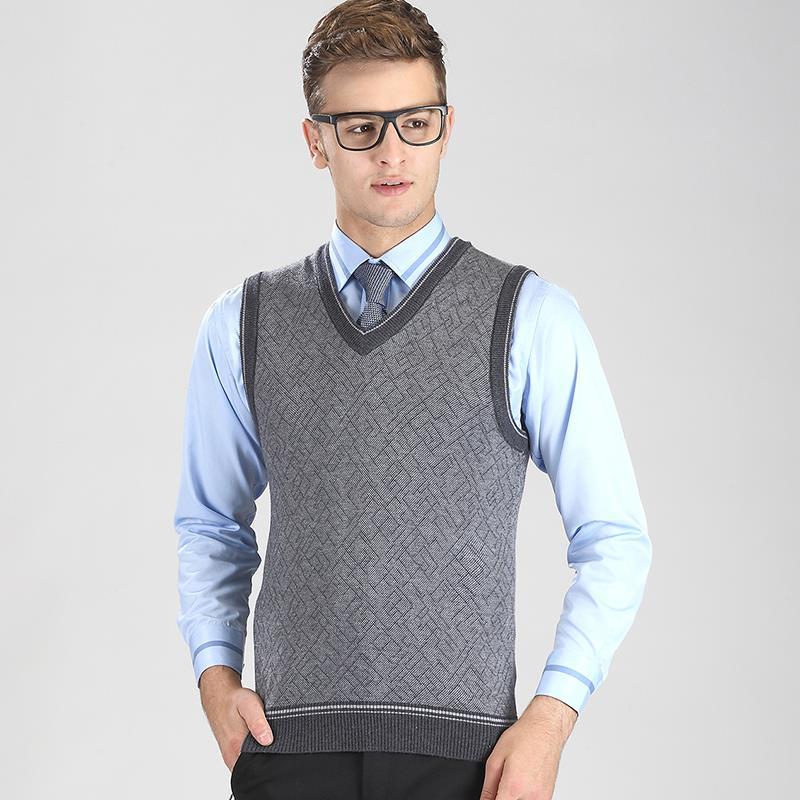 Black Sweater Vest Men 69