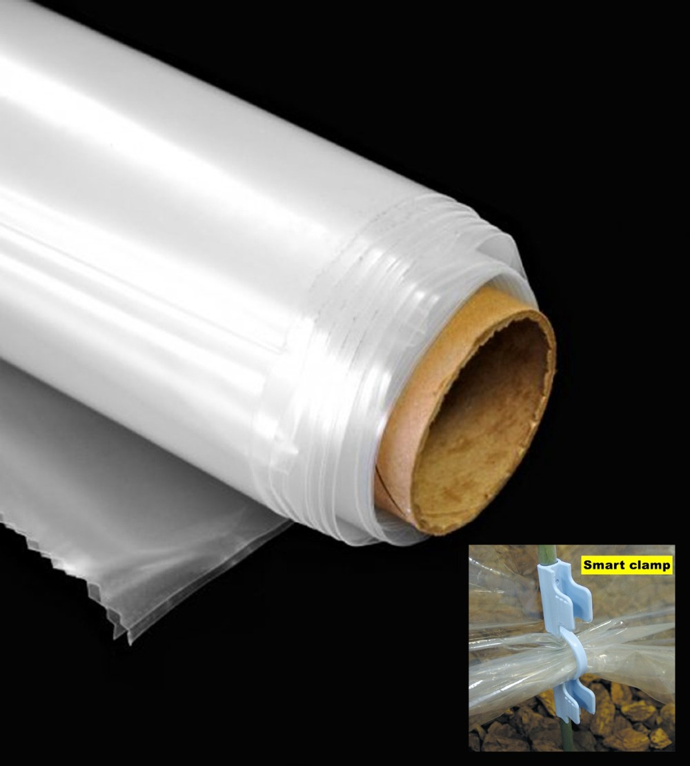 20 square meter 4x5m Greenhouse Clear Plastic Film Polyethylene Covering