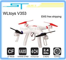 WLtoys V353 Galaxy Headless Mode 2.4G 4CH 6 Axis Gyro  Quadcopter VS Drone Walkera X350 pro DJI Phantom 2 vision FPV EMS toys