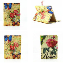 Buy LY Flower Print Flower Pattern England Folio PU Leather Stand Cover Case New Apple iPad Pro 9.7 inch Case Funda for $11.60 in AliExpress store