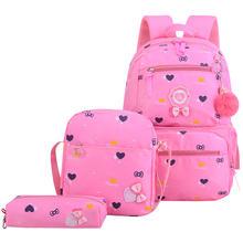 waterproof children school bags girls primary school backpacks kids schoolbags backpacks children princess backpacks sac enfant(China)