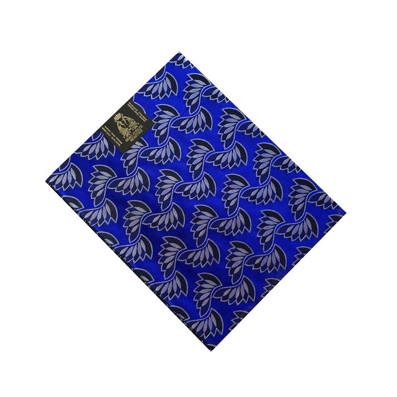 Hot Selling African SEGO headtie High Quality, Head Tie & Wrapper 001, 2pcs / Bag, Royal Blue + Black, 100% African Headtie(China (Mainland))