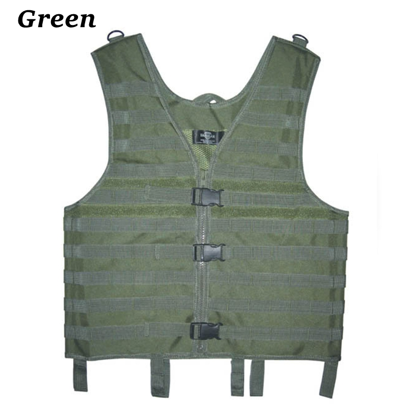 Black/Tan/Green/ACU Tactical Vest Combat Molle Assault Military Army Outdoor Airsoft Paintball Armor Carrier Strike Hunting Vest(China (Mainland))