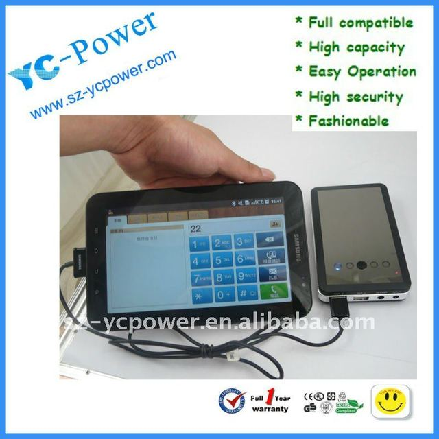 10000mAh/3.7V portable battery powered outlet,emergency mobile phone charger 10000MAH