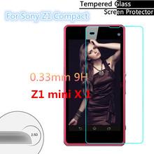 0.3 мм 2.5D для Sony Xperia Z1 мини-компактный M51W премиум закаленное стекло — разрушить защитник протектор