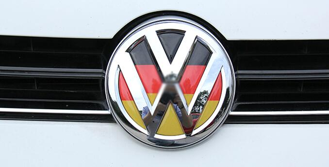 For Volkswagen Golf 7 steering wheel modified car stickers German flag stickers personalized car standard decorative car (3)(China (Mainland))