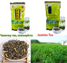 Promotion!Natural organic Tea jasmine,mo li hua cha,Jasmine Flower green tea 250g secret gift+Health Slimming+ - Chinese Capital Ltd. store