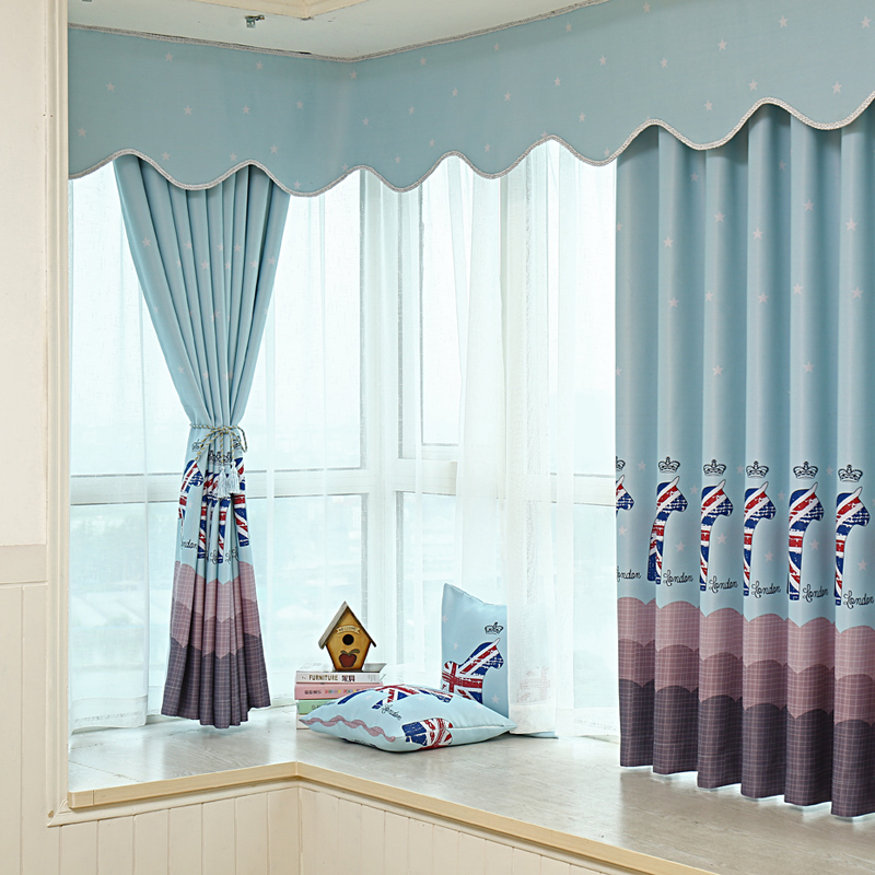 1 pc short curtains for kitchen curtains for living room - Cortinas para miradores ...