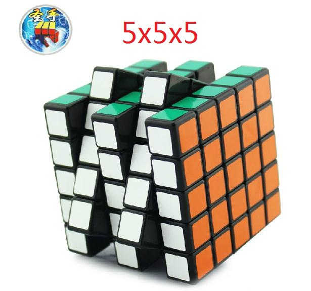 2015 63.5mm Magic Cube ShengShou 5x5x5 Puzzles 5x5 Cubes Toy Twist Magic Square Cubo Puzzle-toy good gift(China (Mainland))