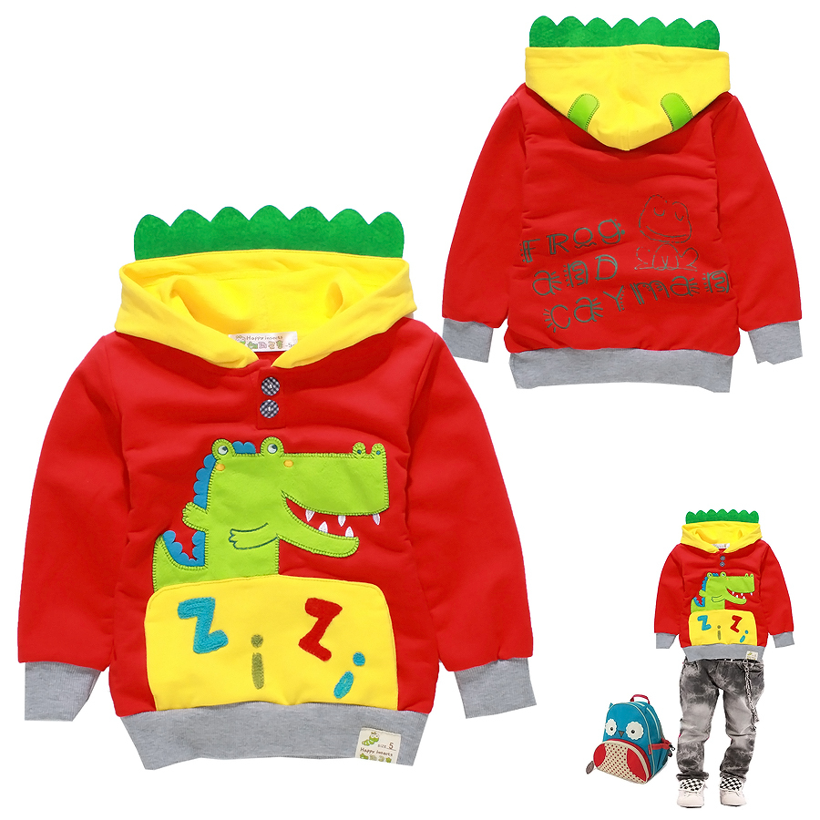 Boy spring children cartoon brand clothing 100% cotton sports sweater thin coat 1 2 5 67 8T years old children clothes 1212(China (Mainland))