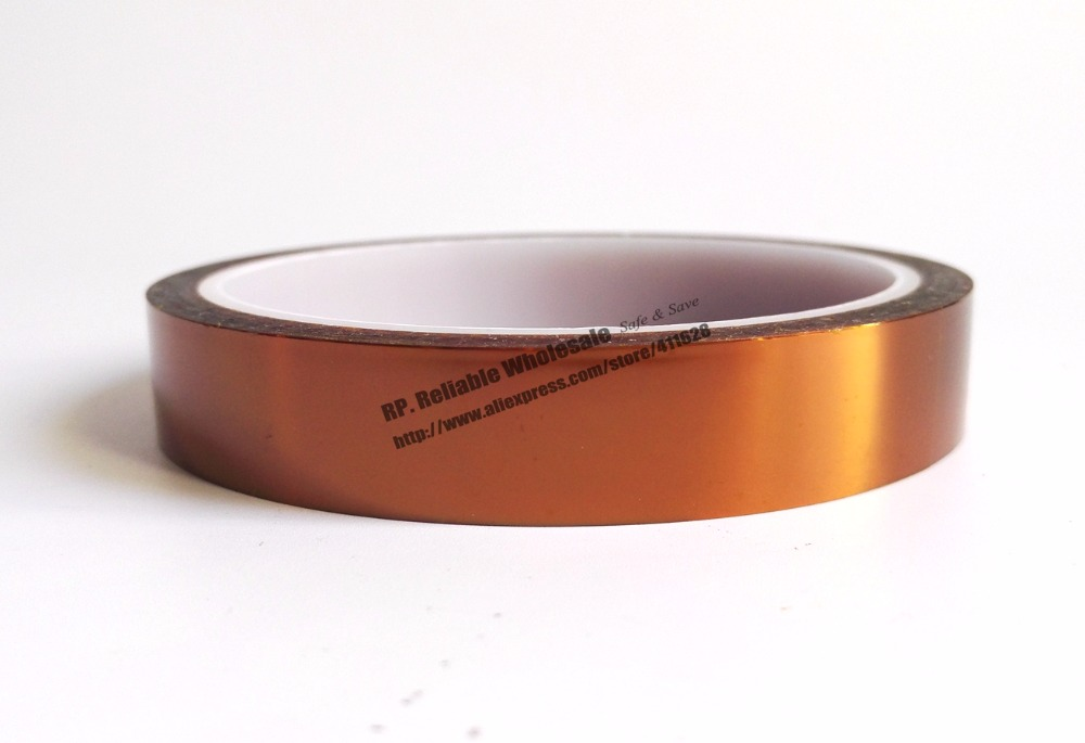 0.06mm Thick 160mm*20M Heat Withstand ESD One Face Glued Tape, Poly imide for Relays, Transformers