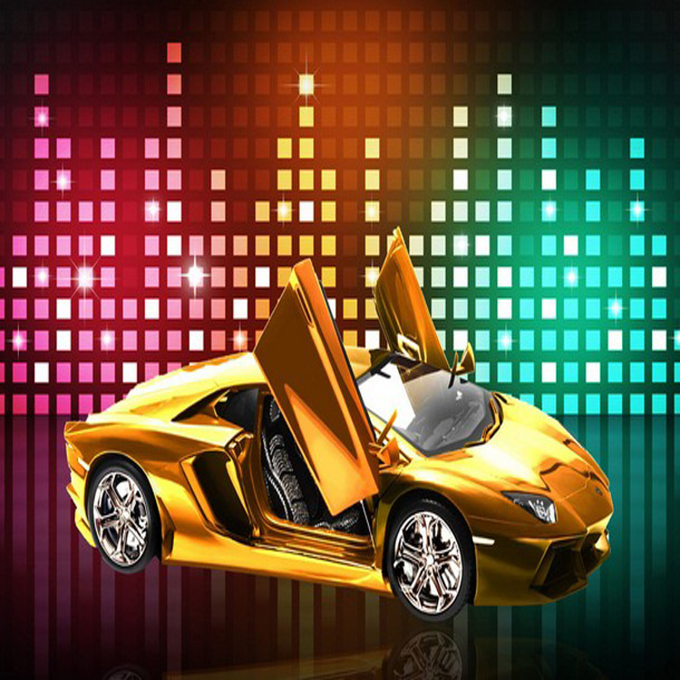 Free Shipping Large Mural Wallpaper Custom 3D Photo No-Woven Background Wallpaper Personality Sports Car Wallpaper(China (Mainland))