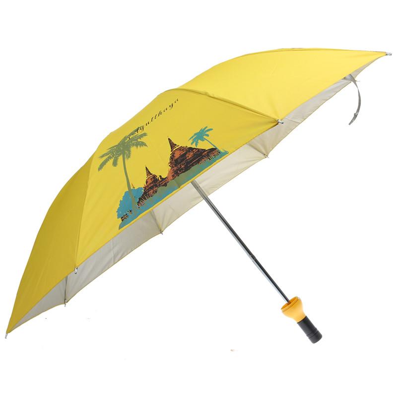 Горячая новинка бутылки вина shaped дерево шаблон складной зонтик анти-уф вс дождь зонтик уф складной зонт