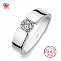 90 OFF 100 925 Sterling Silver Ring Sona CZ Diamond Engagement Rings For Men and Women