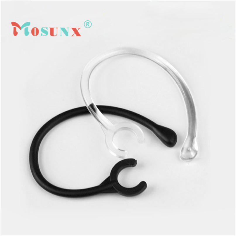 SimpleStone 6pc New Ear Hook Loop Replacement Bluetooth Repair Parts One size fits most 6mm Oct6 mosunx