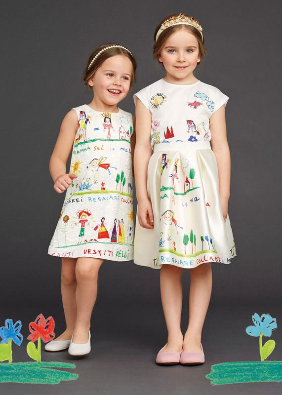 JP66157 Kids Girls Dress Summer style Top Quality Princess Cute cartoon Sundress Casual Children Clothing Scrawl Beach dress<br><br>Aliexpress