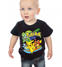 Buy Fashion boys clothes pokemon go children t shirts short sleeve clothing summer baby boys t shirt pikachu kids t-shirt cartoon for $7.38 in AliExpress store