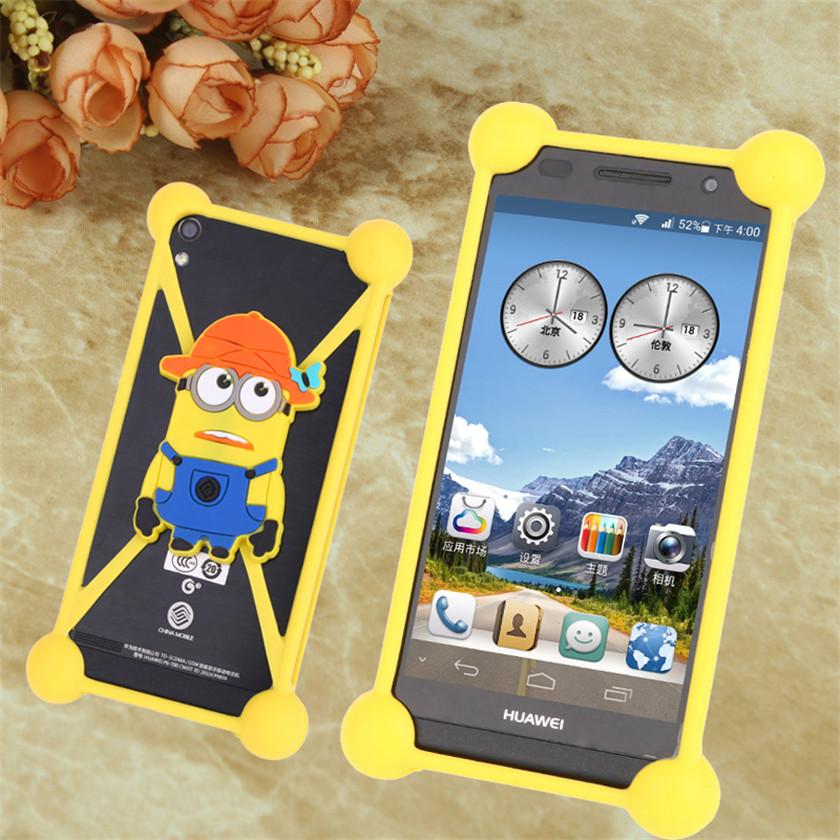 Fashion Lovely 3D cute animal Silicone Fundas mobile Phone bags Case Cover for Yezz Andy 5E2I 6EL 5E C5E 4EL2 5EL 4.5EL LTE 5EI3(China (Mainland))