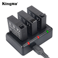KingMa Xiaomi yi Battery 2PCS 1010mAh Xiaoyi Battery,Xiao Yi Battery Dual Charger For Yi Action Camera Xiaomi Yi Accessories