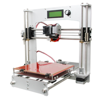 Newest Quality High Precision All Aluminum Reprap Prusa i3 DIY Geeetech 3D Printer Kit with Free LCD