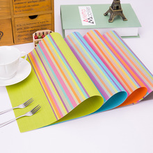 4 pieces/lot Heat-insulated Tableware PVC Placemat Kitchen Dinning Bowl Dish Waterproof Pad Table Mat(China (Mainland))