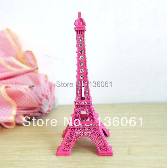 Online kopen wholesale roze eiffel tower uit china roze eiffel tower groothandel - Decoratie themakamer paris ...