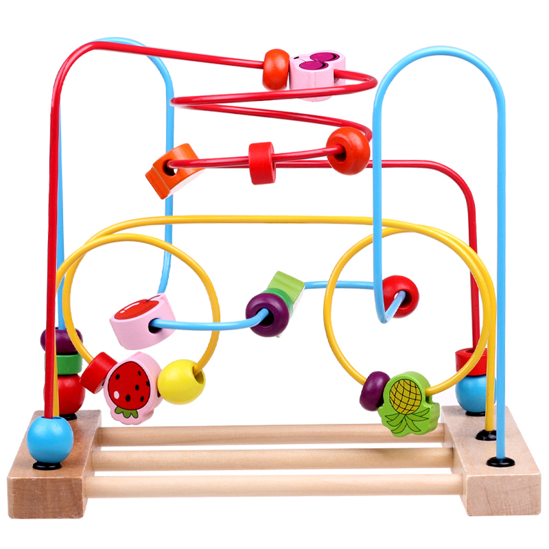 Color Bead Game Colorful Educational Game