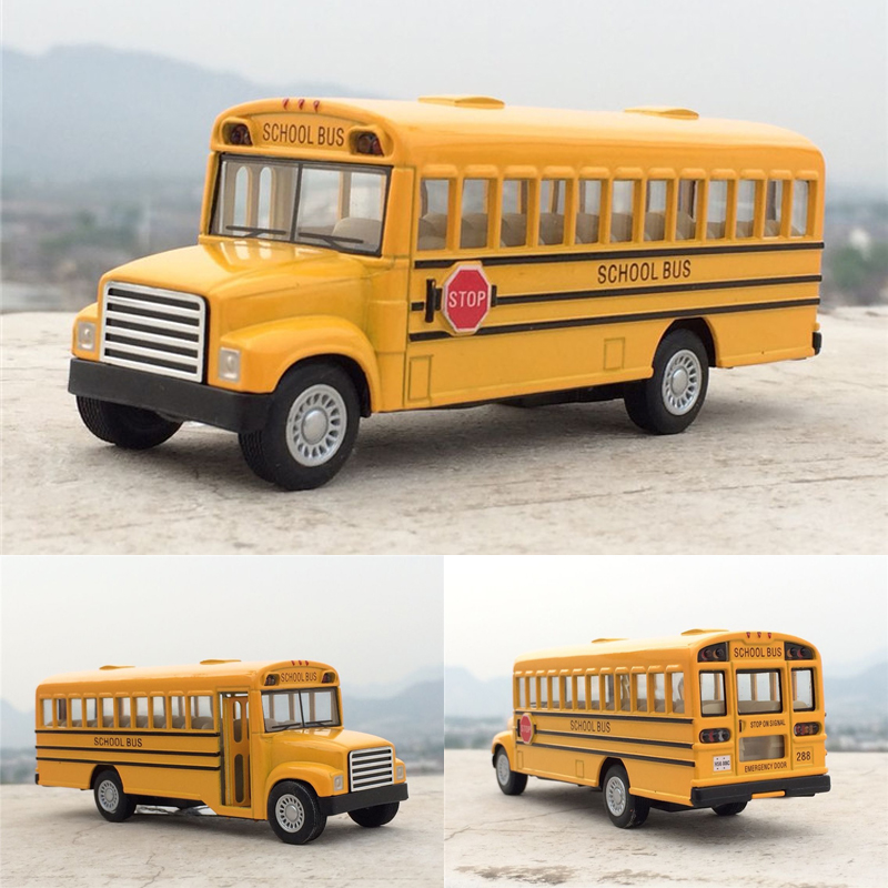Brand New KiNSMART 1:32 American School Bus Diecast Metal Car Model Toy For Kids Collection Gift Toys Free Shipping(China (Mainland))