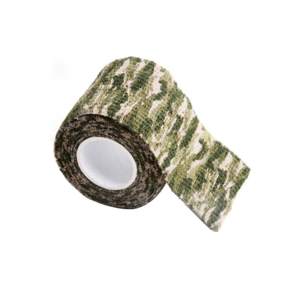5cmx4 5m Army Camo Outdoor Hunting Shooting Tool Camouflage Stealth Tape Waterproof Wrap Durable Cloth Tape