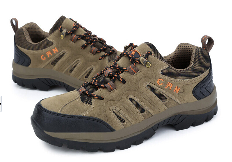 mens shoes waterproof anti-skid mountain climbing boots athletic trekking breathable outdoor hiking - Outdoor Idea store