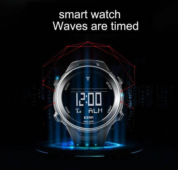 sports watch L002 waterproof 50m brand Waves table running watch multifunctional outdoor leisure digital watches