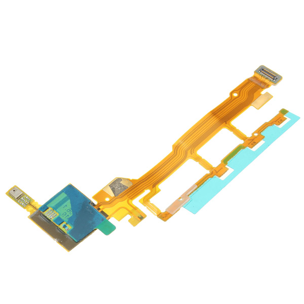 Power Volume Button With Mic Replacement Flex Cable For Sony For Xperia Z L36h L36i C6603 C6602(China (Mainland))