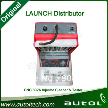 Launch CNC 602A fuel injectorcleaner&tester cnc-602a 6 cylinder cleaning testing machine DHL Free Shipping