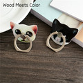 Wood Meets Color Personalized mobile phone support mouse mobile phone holder car suction cup mobile holder navigation frame