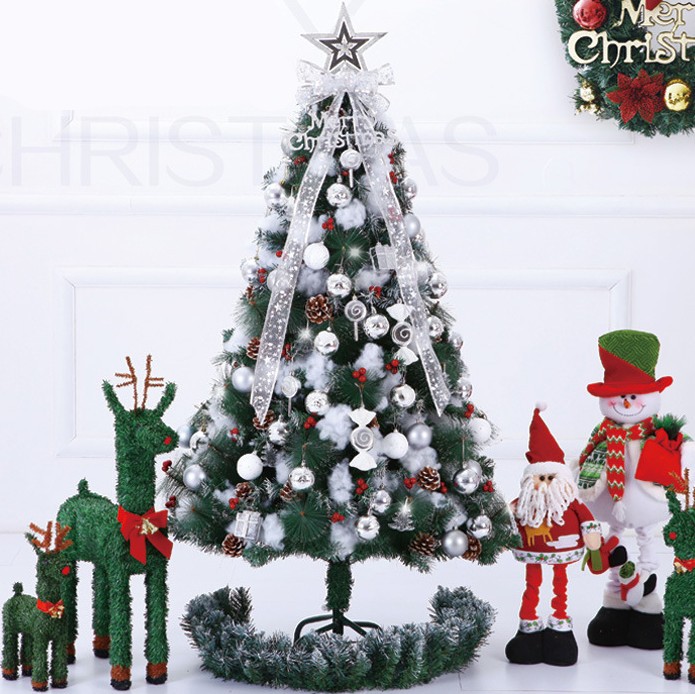 2015 New Year Artificial Christmas Trees Green Style Trees