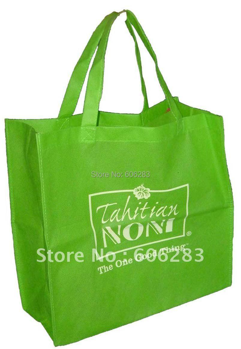 Recycle non woven bag with custom logo MOQ 500PCS free design(China (Mainland))
