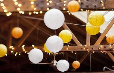 """25pcs/lot 4""""(10cm) Chinese Mini Paper Lantern Lampshade Hanging"""