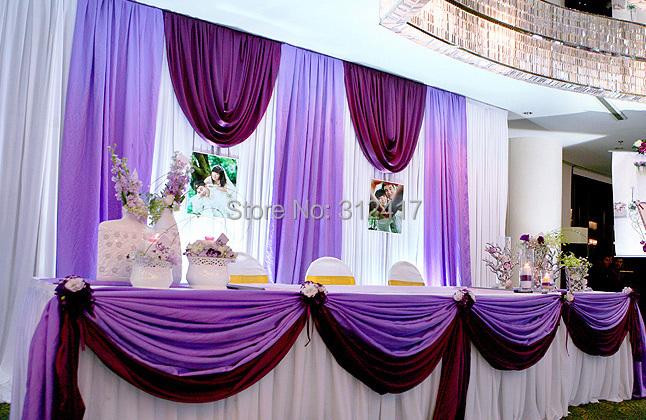 Purple stage curtains - Aliexpress Com Buy Hotsale 10x10 Multi Color Wedding