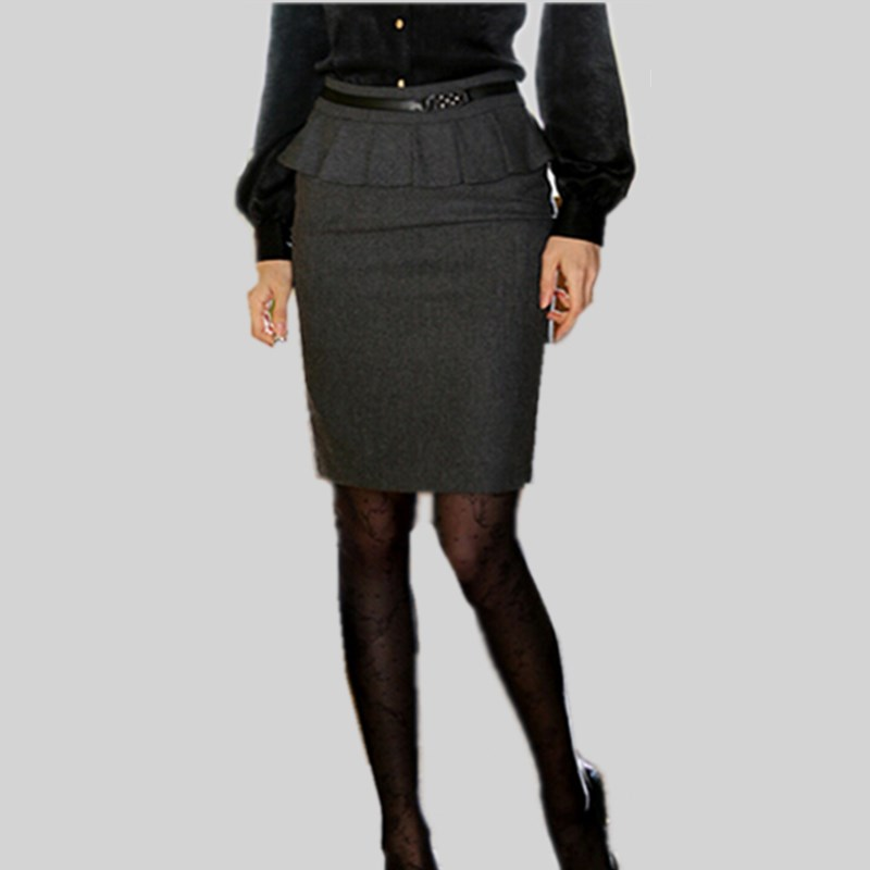 Luxury Pencil Skirt High Waist Straight Multi Colorin Skirts From Women