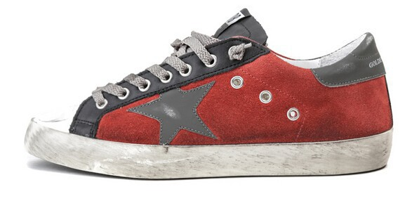 Golden Goose sneakers star patterns GGDB New Pentagram Casual shoes Italian Do old fashion shoes(China (Mainland))