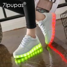 27-44 รองเท้าแตะ Led USB illuminated krasovki รองเท้าส่องสว่าง(China)